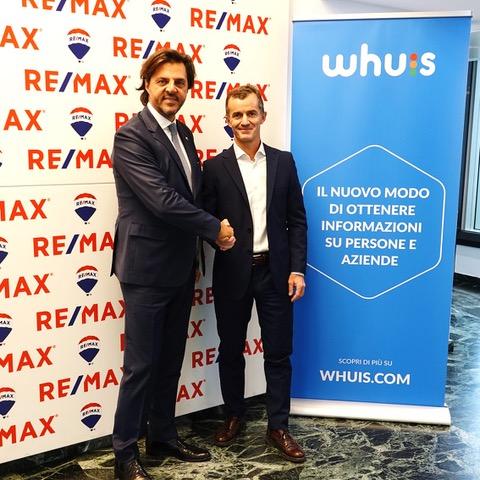 RE/MAX sceglie WHUIS.COM come partner per accelerare la digitalizzazione del settore